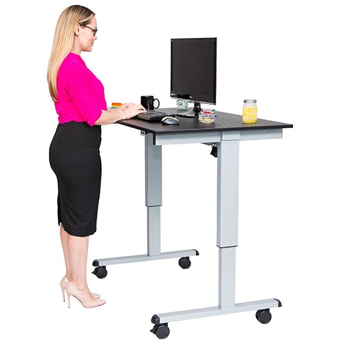 electric standing height desk