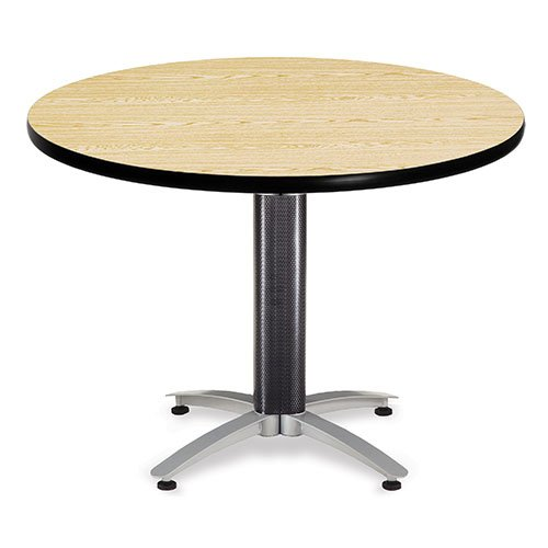 Multipurpose Tables Laminate Tops Round or Square Tops  : Table OFM MT42RD Oak from www.bakagain.com size 500 x 500 jpeg 22kB