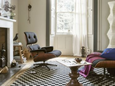 Lounge Chair & Ottoman 1956