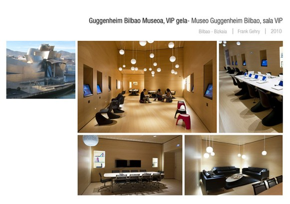 Museo Guggenheim Bilbao Sala VIP
