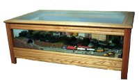 Model Train Coffee Table Plans PDF Woodworking