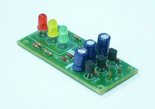 Simple Traffic Light Circuit