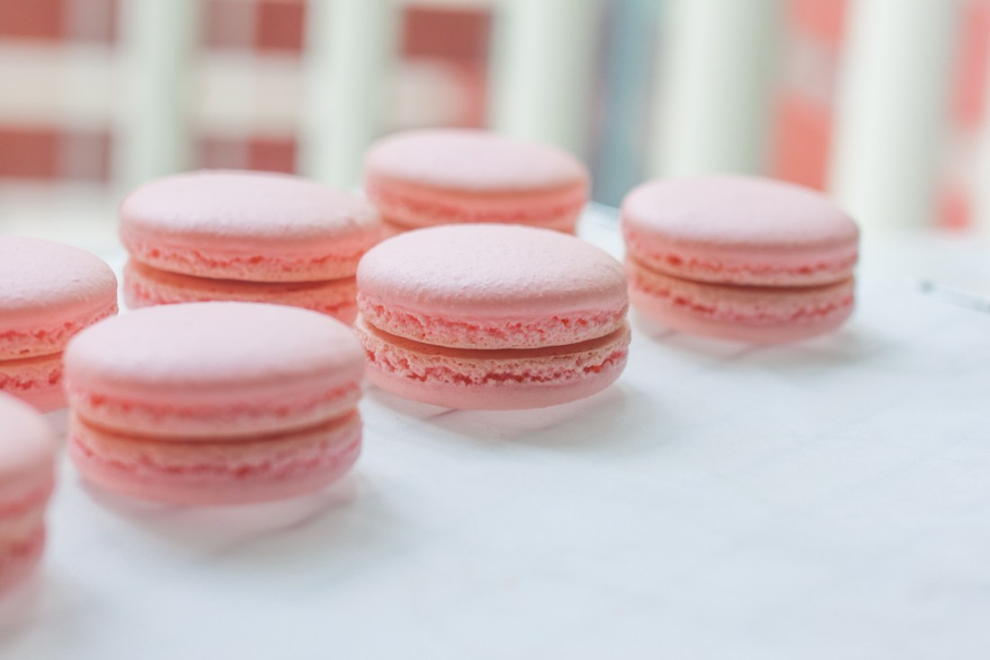 How to make macaron shells