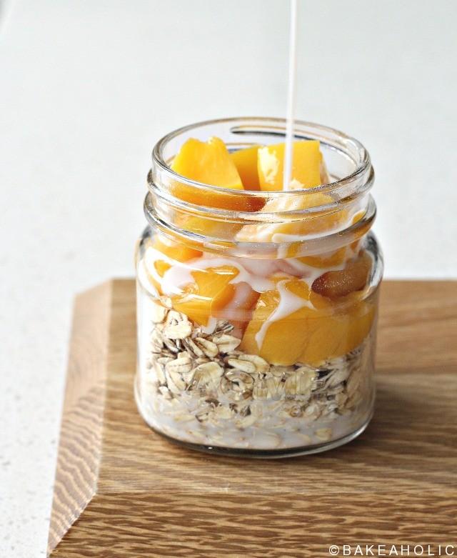 peachy oats