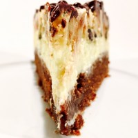 Brownie Cheesecake mit Cookie Dough