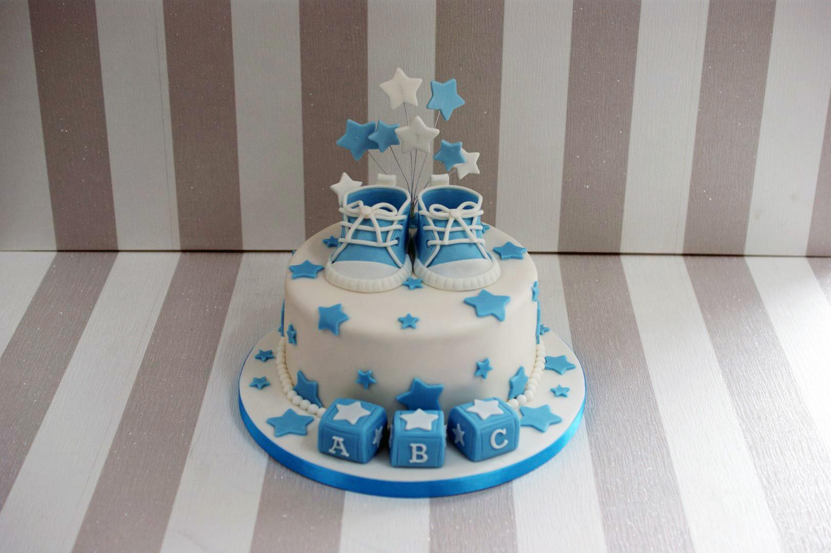 Baby Naming Cake Ideas