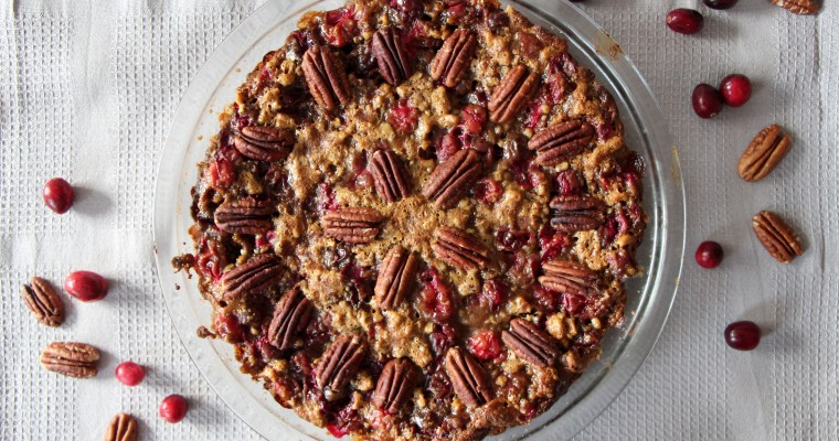 What I'm thankful for … healthy pecan pie