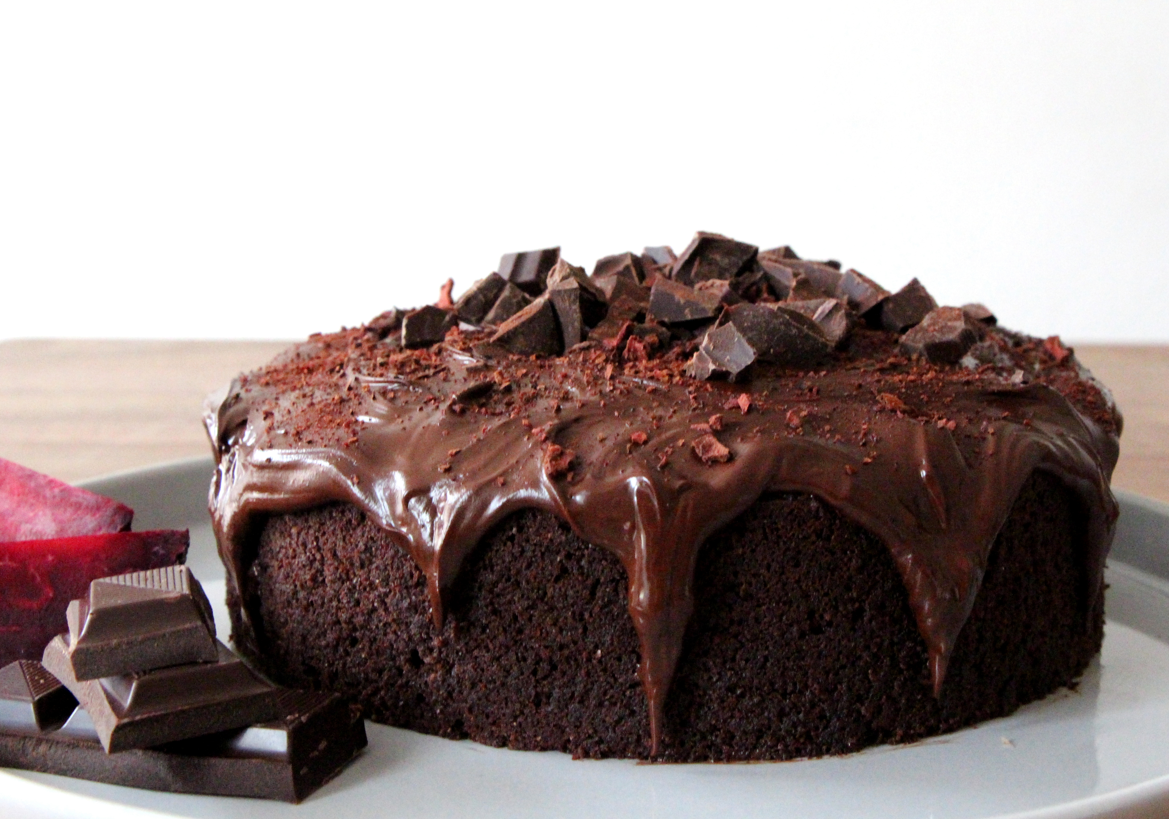 New Year's resolutions … beetroot chocolate cake