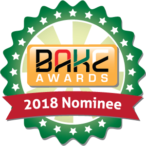 BAKE Awards 2018 Nomination Badge