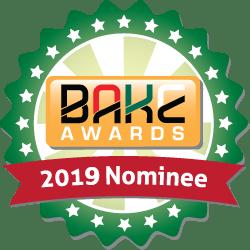 BAKE Awards 2019 Nomination Badge
