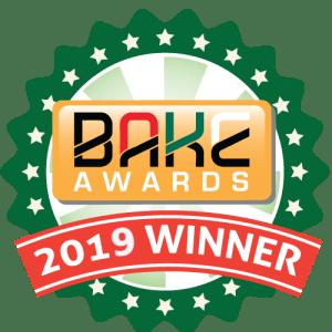 BAKE Awards 2019 Winners Badge