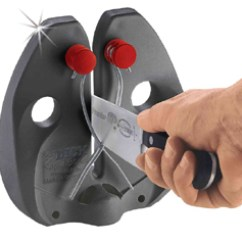 Wusthof Kitchen Shears Gray Cabinets F. Dick Rapid Steel Action Professional Knife Sharpener ...