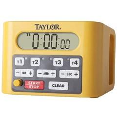 Taylor Kitchen Timer Quartz 5839n Digital Event Commercial With Volume Control Knob