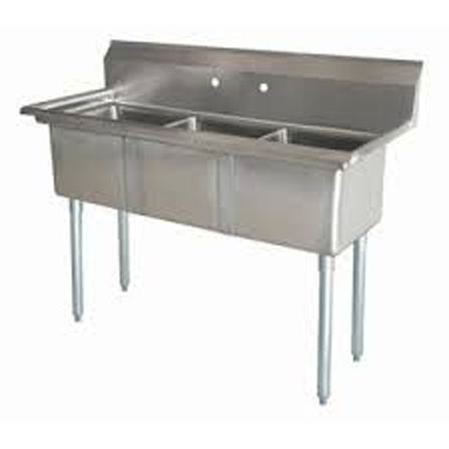 lj2030 3 three compartment nsf commercial sink bowl 20 x 30