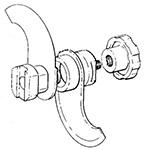 Equipment & Parts Parts & Attachments Hobart Food Cutter