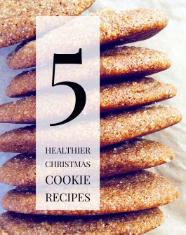 Five Healthier Christmas Cookie Recipes