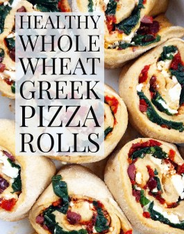 Greek Pizza Rolls