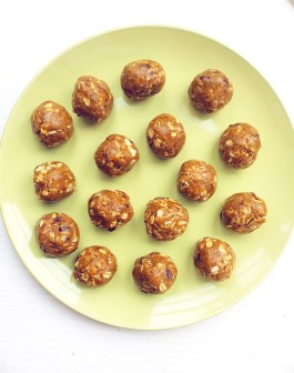 Chocolate Chip Almond Butter Oat Balls