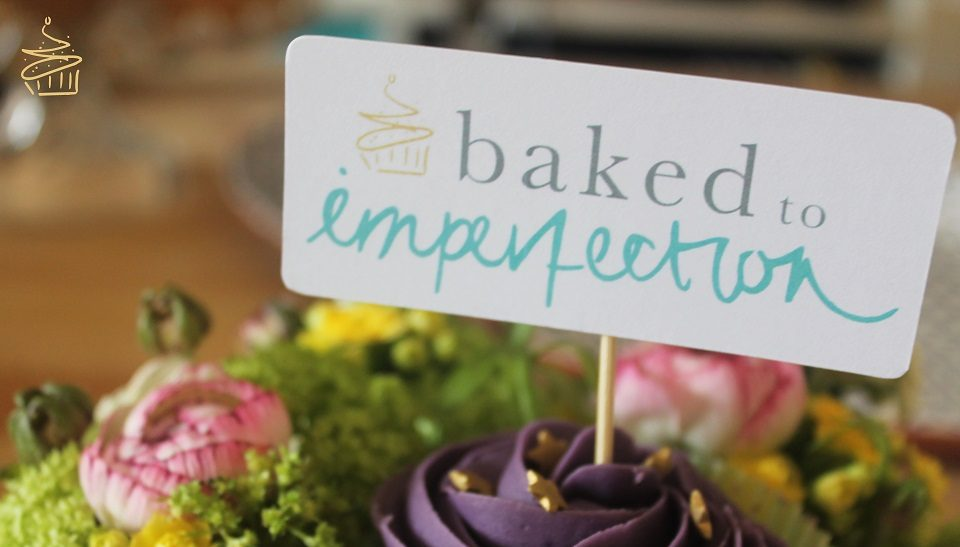 Baked to Imperfections 1st Birthday Party and logo launch