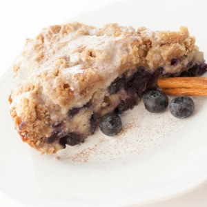 Blueberry Buckle at Delectable, www.delectablecookingandbaking.com