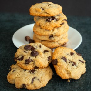 Paleo Chocolate Chip Cookies, BakeItWithLove.com