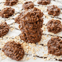 Chocolate No Bake Cookies (without peanut butter)