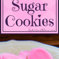 Classic recipe for traditional rolled sugar cookies.