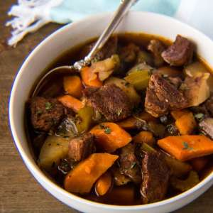 Quick and easy Instant Pot Beef Stew