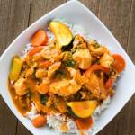 Leftover Turkey Curry