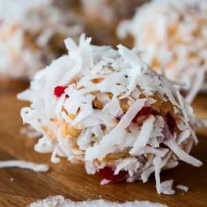 No Bake Maraschino Cherry Chocolate Chip Crisps are an easy to make treat we enjoy every Christmas season