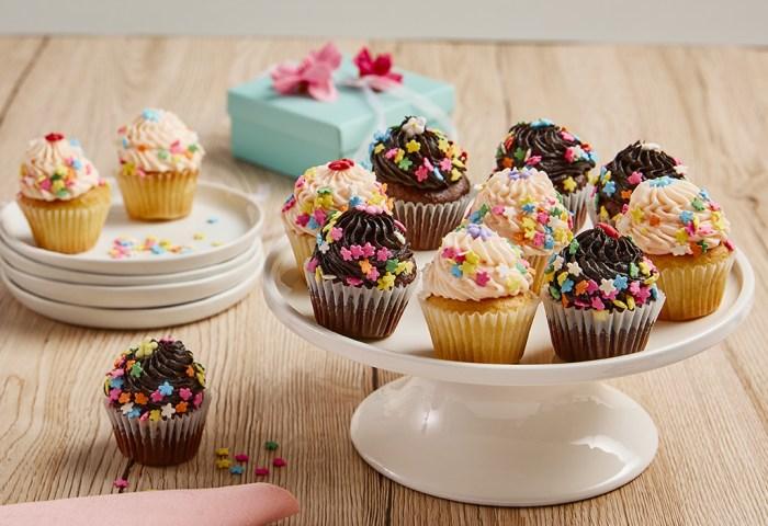 Bake Me A Wish Mini Springtime Cupcake Bouquet Delivery