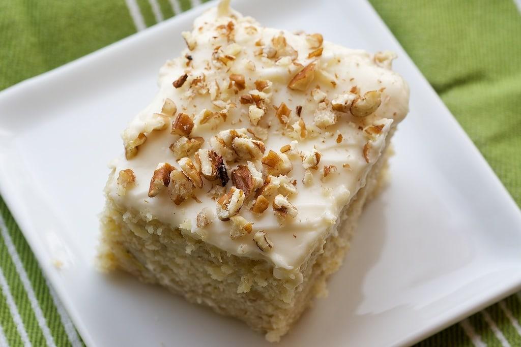 Banana Cake Cream Cheese Frosting Recipe