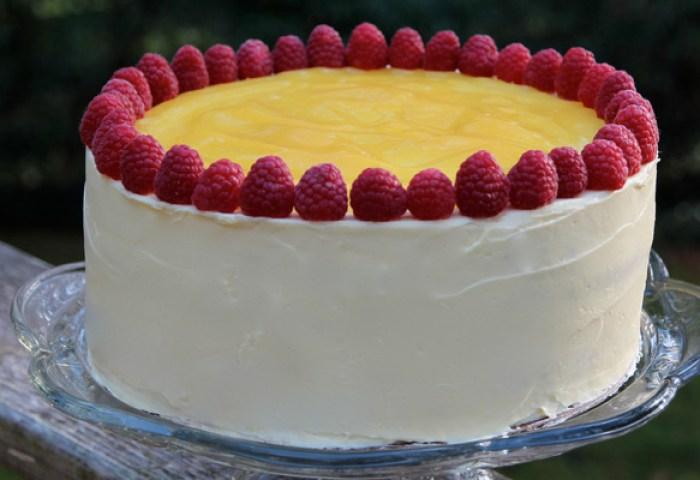 Lemon Raspberry Cake Recipe Bakepedia