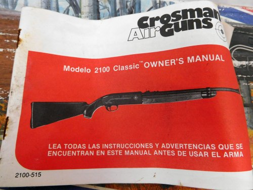 small resolution of  crosman 2100 classic air rifle prev
