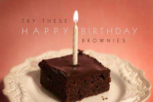 Brownies For My Best Friend S Birthday Bakerella Com