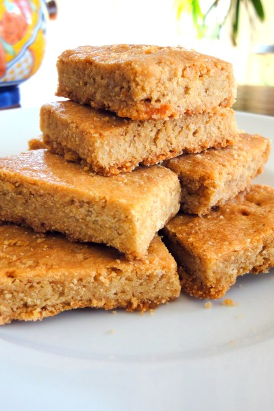 This Brown Sugar Shortbread recipe from is from NYC's Marlow & Sons! These cookies, baked spread on a sheet pan, are perfectly buttery, crisp, and tender - you're sure to love them.