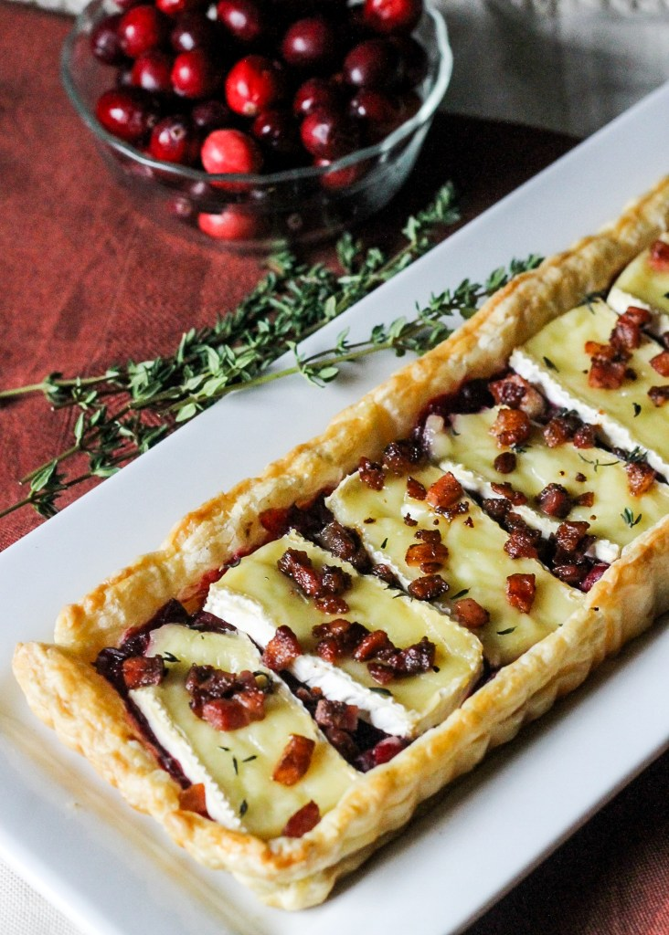 Cranberry Brie Tart With Pancetta Amp Thyme Bakerita