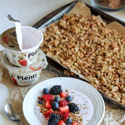 Almond Coconut Butter Granola