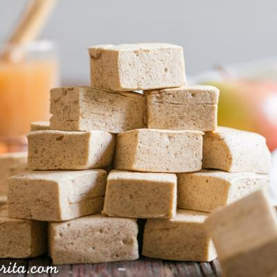 Paleo Apple Spice Marshmallows