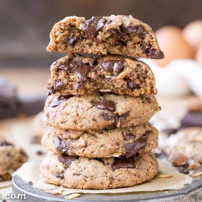 Paleo Almond Coconut Chocolate Chunk Cookies