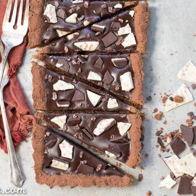 Gluten-Free Peppermint Mocha Tart