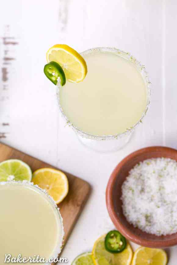 This Pacific Rim Margarita is a refreshing, tropical drink that you'll love sipping on! It's flavored with citrus and has a spicy coconut twist. Enjoy responsibly!
