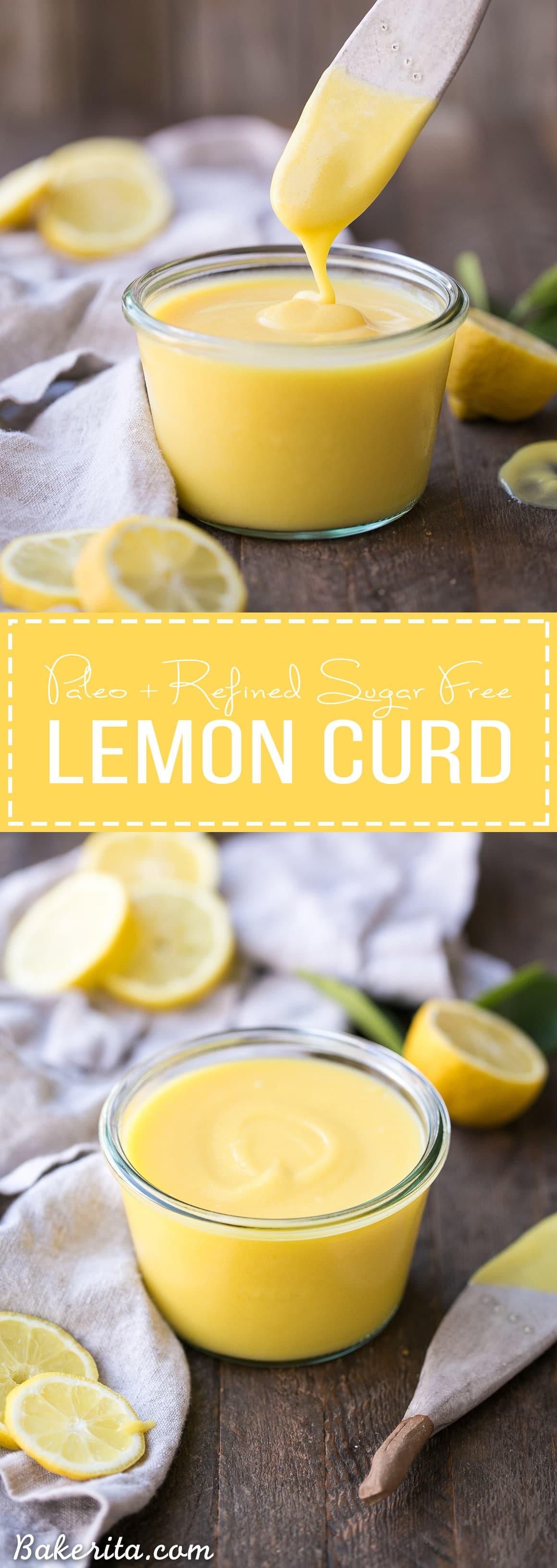 Paleo Lemon Curd - Bakerita