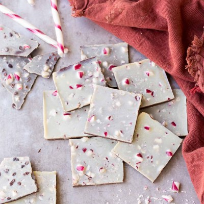 Chocolate Peppermint Bark (Gluten Free, Paleo + Vegan)