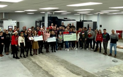 Festive Donations to Local Charities