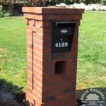 Stone Mailboxes Brick Mailboxes Baker Masonry Portland Oregon