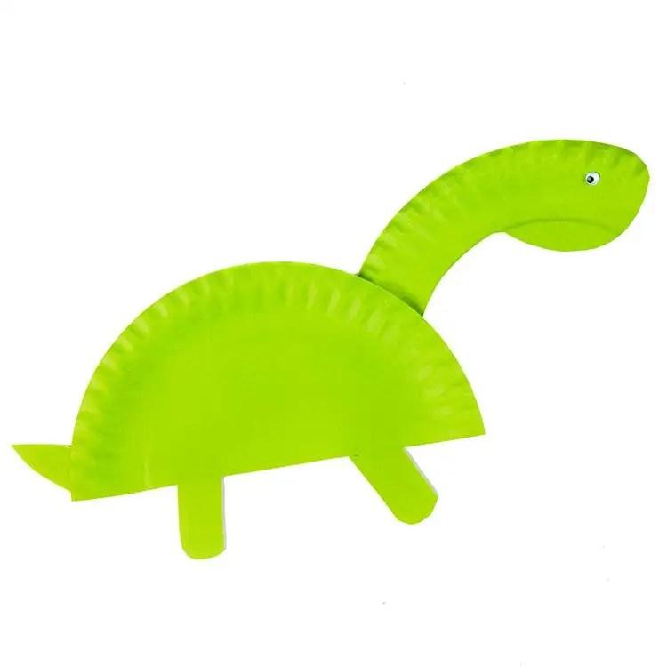 Dinosaur Paper Plate & Preschool Crafts For Kids T Rex