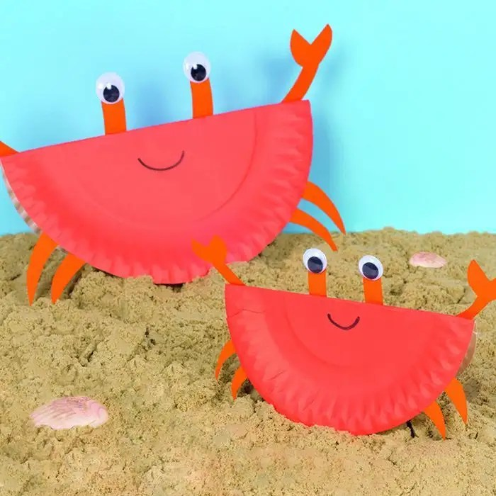 01/05/2021· these supplies are perfect for making some of these crab craft ideas with your kids: Rocking Paper Plate Crabs Creative Station