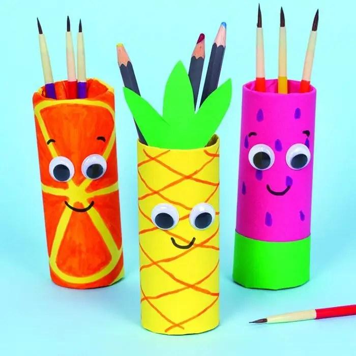 summer fruit pen pots