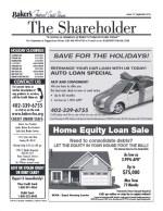 The Shareholder 2015 3Qtr